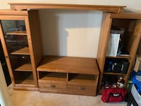 Solid wood tv stand North Dumfries, N0B