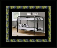 Twin bunkbed frame with 2 mattress College Park, 20742