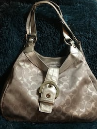 Silver & Grey Signature Soho Shoulder Bag Midwest City, 73110