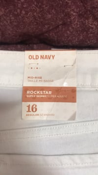 Old Navy White Jeans  Hayward