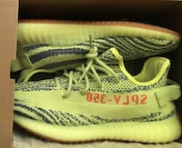 Frozen Yellow worn 2x but like new. Size 9.5. Just shoes   Los Angeles, 90023