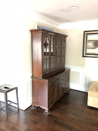 Brown wooden dresser with mirror Fairfax, 22030