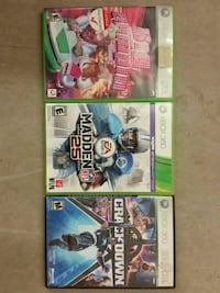 3 Xbox 360 Games for $5 Tomball, 77375