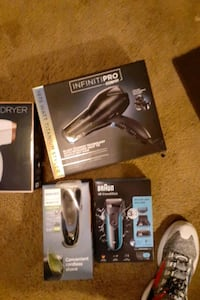 Blow dryers and bears trimmers