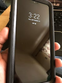 space gray iPhone 6 with black case East Patchogue, 11772