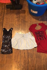 Guess, Juicy and sequin top size small