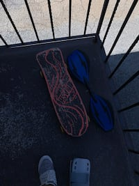 Skateboards for the orange one 25 & for the blue one 40 and 65 for both