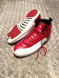 Mens Air jordan 12 Retro Size 11 comes with box. 1000% authentic! Color red & white. Minor creasing on the front other then that excellent condition! Washington, 20002