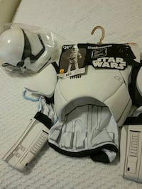 new storm trooper star wars costume never out of the bag. child 8 - 10 Middle River, 21220
