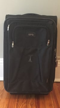 black EFQ softside luggage Washington, 20007