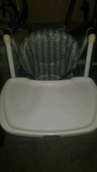 baby's white and gray high chair Surrey, V4N 1B5