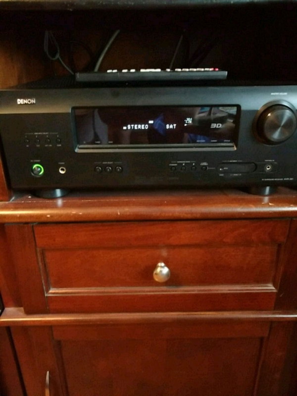 Denon AVR-391 av surround reseiver