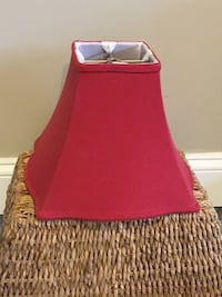 Red Denim Lampshade Towson, 21204