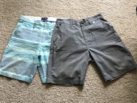 Hurley and Vans shorts Size 32 Burnaby, V5A 0A3