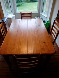 Kitchen Table with Chairs and Buffet