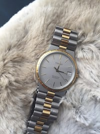 Two tone Tissot mans watch working well Toronto, M4L 2S1