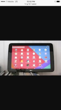 Lg 10.1 tablet with case