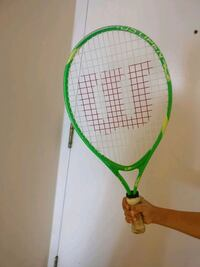 green and white tennis racket Mississauga, L5B 3Y7