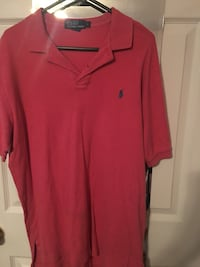 Red ralph lauren polo shirt Houston, 77060