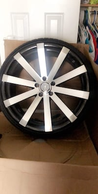Velocity 20 Inch Rims Brand New Had On For A Week Needs One Tire Still In The Box 5 Lug Glen Burnie