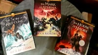 3 Rick Riordan Disney Novels hard cover Dallas, 75243