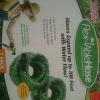 2 PACK GREEN HOSE EXPAND UP TO 100 FEET NEW IN BOX Myrtle Beach, 29588