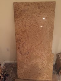 Granite slab - new. 24x53 cut to wrong size