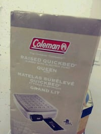 BN- Coleman Raised inflatable bed (queen) Toronto, M5P 3N3