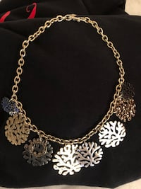 Coach coral bib necklace Centreville, 20120