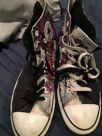 Converse All Stars DC COMICS two face hi tops