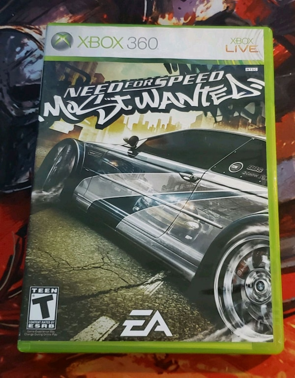 Used Need For Speed Most Wanted 2005 Xbox 360 For Sale In