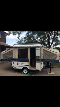 White and blue camper trailer South River, P0A 1X0