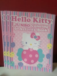 Hello kitty coloring books, only three 2.00 each Cambridge, N3C 4E3