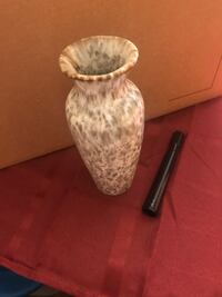 white and brown ceramic vase District Heights, 20747