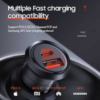 Benks C29 Fast Charging PD Car Charger