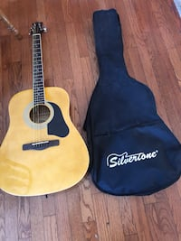 Silver tone electric guitar in case Taneytown, 21787