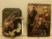 New Limited Edition Hellsing Ultimate Series : 3 Dvd + Anderson Figure Surrey, V3W 2P2