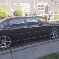 2005 Chevy impala rims system included
