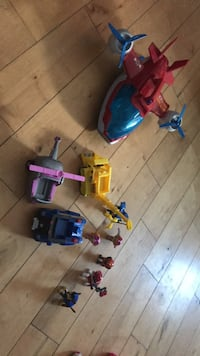 assorted color plastic toy lot Maple Ridge, V2X 6R8