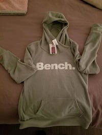 Medium womens fleece bench hoodie
