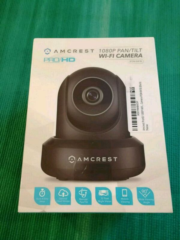 Amcrest ProHD WiFi security wireless IP camera ba21830a-1ad0-451d-8756-cdf89610a26b