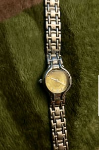 round silver-colored analog watch with link bracelet Anaheim, 92802