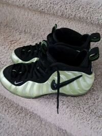 pair of teal-and-black Nike Foamposite Pro shoes Lancaster, 93536