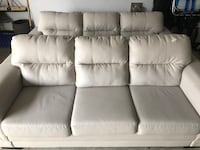 (2) Off-White Sofas for Sale - 2 weeks only Brampton, L6Y 0T3