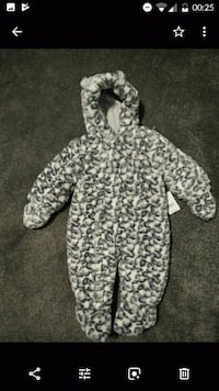 baby's all in one coat 6-9m West Yorkshire, WF1 5AZ