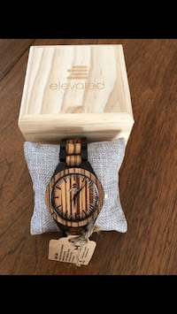 Elevated bamboo watches  Belleville