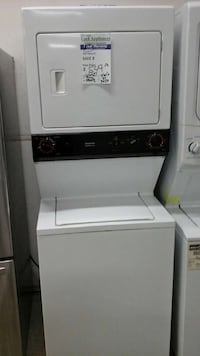 White GE Stackunit with a Warranty