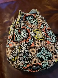 white, red, and black floral Vera Bradley bag Knoxville, 37934