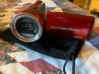 red and silver Nikon Coolpix point and shoot camera Brookwood, 35444