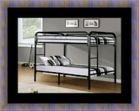 Twin bunkbed frame with 2 mattress Baltimore, 21215
